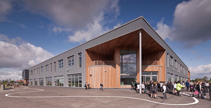 Faith Schools' Joint Campus including VELFAC windows