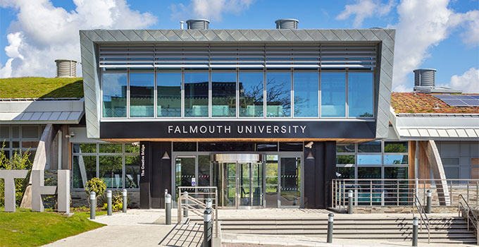 VELFAC windows at Falmouth University, Penryn