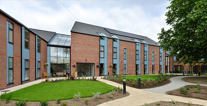 John Sturrock Care Home with VELFAC windows