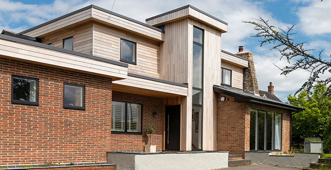 Jason Orme's renovated family home with VELFAC composite windows