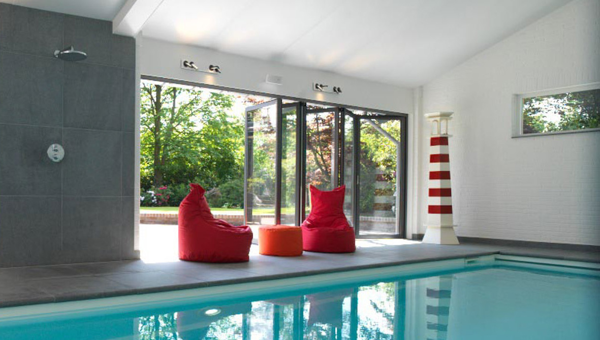 Bi-fold doors - Find VELFAC bi-fold glass doors here →
