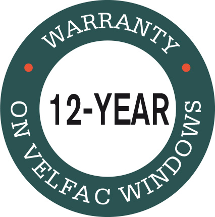 12-year warranty logo