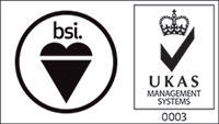 BSI UKAS Accredited Certification Body logo