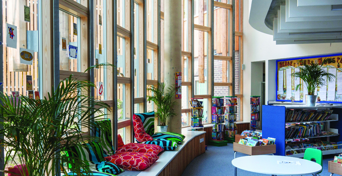 UK's first carbon neutral school featuring VELFAC glazing