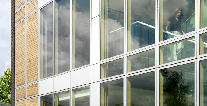 Panels suitable for tall buildings and creates a stylish look to the building from the outside