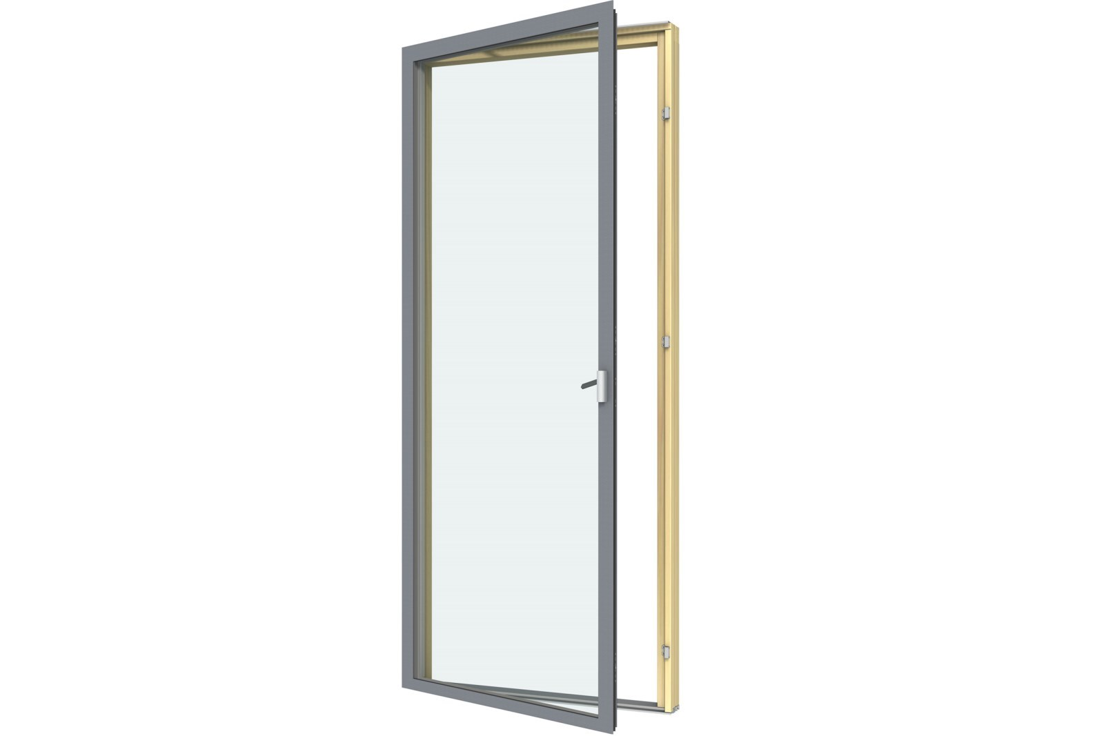 Casement Doors Modern Aluminum Composite Patio Doors