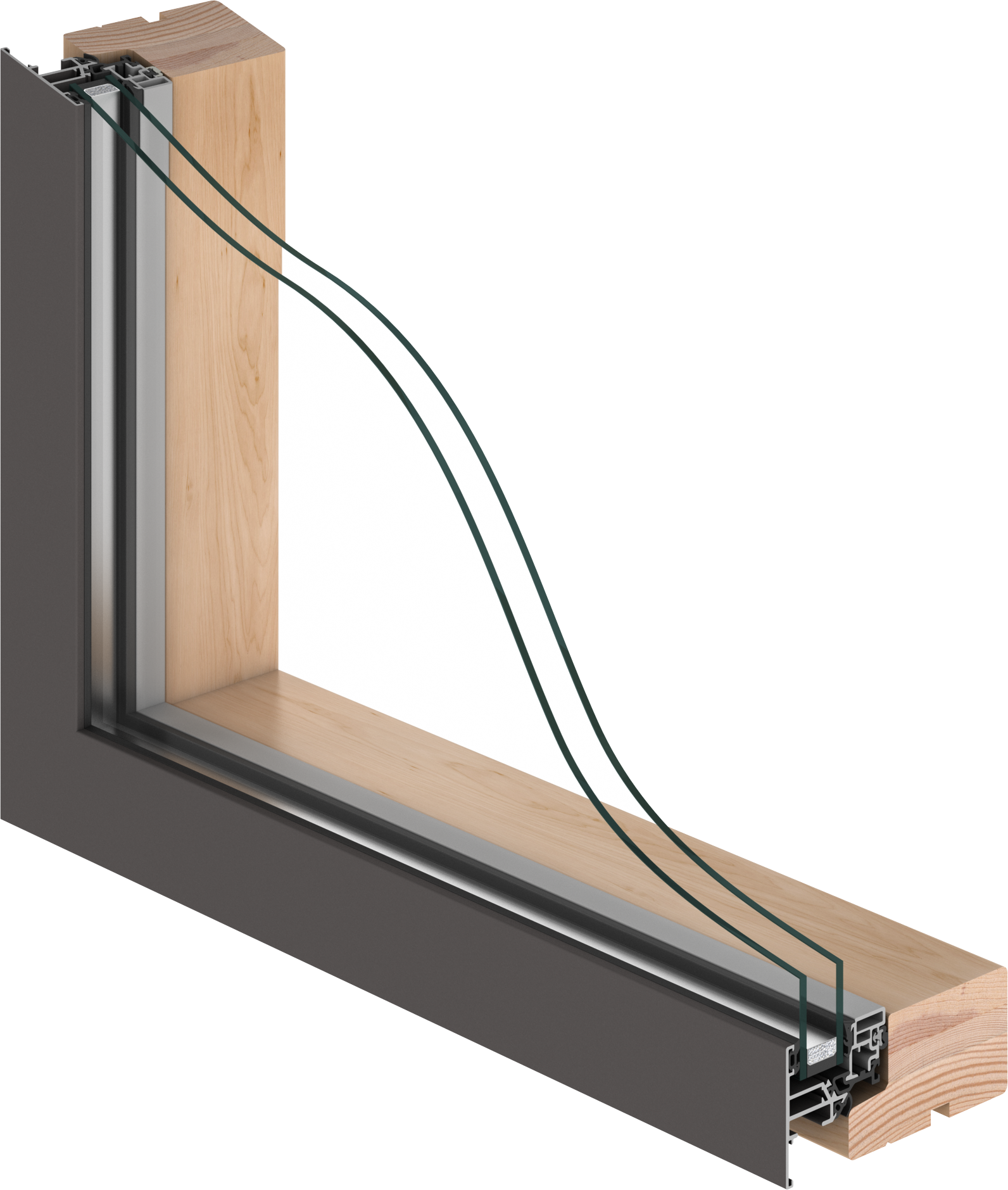 A stylished and sophisticated window with double glazing