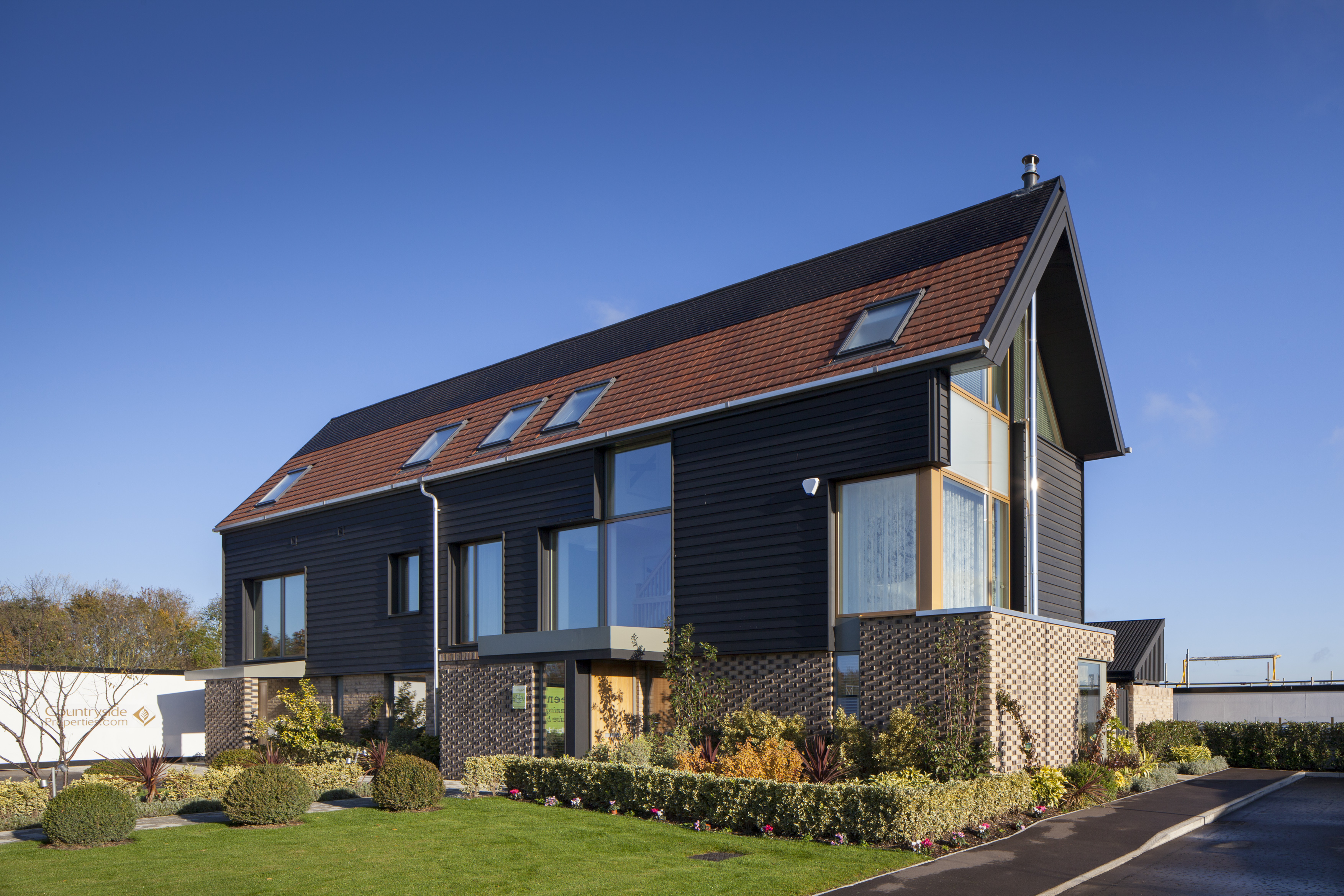 Innovated designer house with high efficiency windows in Cambridge